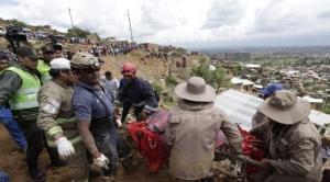 Un derrumbe deja un fallecido en Cochabamba 1