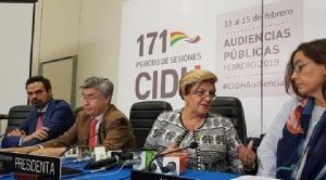 """La CIDH concluye sus sesiones con un llamado a los bolivianos a """"consolidar su democracia"""" 1"""