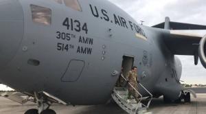 Arriba a Colombia el segundo avión de EEUU con ayuda humanitaria para Venezuela