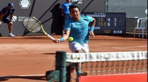 Hugo Dellien ganó al argentino Andreozzi y pasó a segunda ronda del ATP de Río