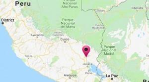 Un sismo que sacudió al sur del Perú fue sentido en La Paz
