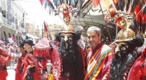 """Presidente de Paraguay califica de """"maravilloso y grandioso"""" el Carnaval de Oruro"""