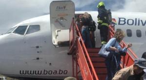 Murillo era pasajero en avión de BOA que tuvo un incidente