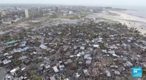 Mortífero ciclón destruye el 90% de ciudad africana 1