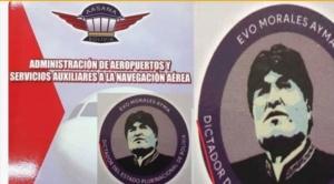 """Fiscalía procesa a dueña de taller que imprimió folders con logo de Evo """"dictador"""" 1"""