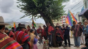 """Nación Qhara Qhara: """"Los españoles avasallaron nuestras tierras como hoy el Gobierno nos quiere avasallar"""""""