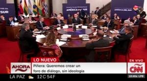 Bolivia asiste a reunión de creación del Prosur, que reemplazará a Unasur