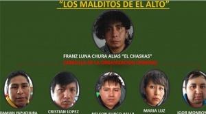 """Envían a la cárcel a """"Los Malditos de El Alto"""", la familia de la víctima vivía en la casa de uno de los secuestradores 1"""