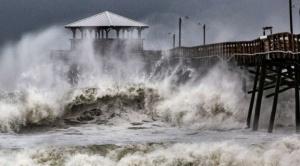El huracán Florence llega a EEUU con fuertes vientos y lluvias torrenciales