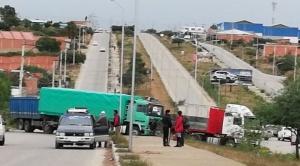 Al menos 70 puntos de bloqueo en Tarija defienden Reserva de Tariquía