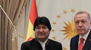 Erdogan, que apoya al régimen de Maduro, anuncia que visitará Bolivia