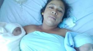 Muere mujer al dar a luz a mellizos, su pareja denuncia negligencia médica 1