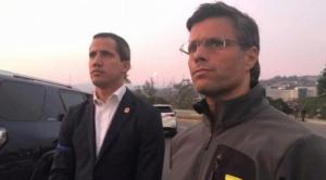 Se produce un levantamiento militar en Venezuela, Leopoldo López fue liberado