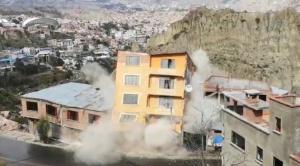 Comuna desplaza 200 personas ante deslizamiento en San Jorge-Kantutani