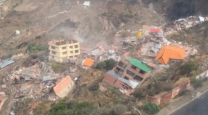 Deslizamiento en San Jorge afectó a 380 personas y destruyó 64 viviendas en un área de 8 hectáreas