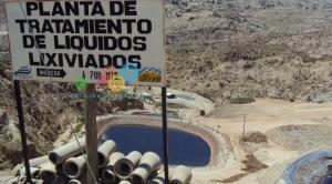 La celda 15 de relleno de Alpacoma es para almacenar residuos del deslizamiento