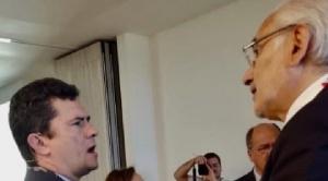 Mesa habló con Sergio Moro sobre el peligro de crecimiento de corrupción en América Latina
