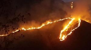 Incendio en la Reserva de Sama ya afecta a cuatro comunidades en Tarija