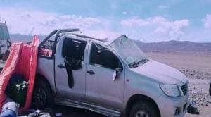 Mueren dos funcionarios del Órgano Electoral en accidente de tránsito