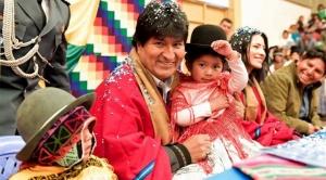 """Presidente Morales reafirma """"compromiso de luchar"""" contra toda forma de violencia hacia los menores"""