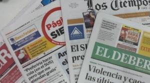 Diarios impresos piden incluir cuatro normas a la ley de eliminación de avisos gratuitos
