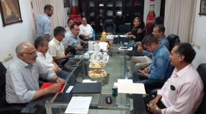 Mesa y Pedraza escucharon las demandas de ganaderos y empresarios del Beni