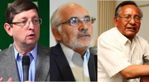 Mesa, Ortiz y Cárdenas confirman que participarán de la marcha contra el TSE y en defensa del 21F