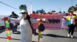 Masivo respaldo a la marcha por respeto al 21F y renuncia de los vocales del Órgano Electoral