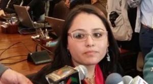 Andrea Cornejo reemplaza a Pedro Susz en la presidencia del Concejo Municipal de La Paz