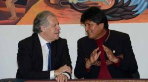 Fuentes diplomáticas aseguran que apoyo de Almagro a Evo pone en riesgo su reelección al frente de la OEA 1