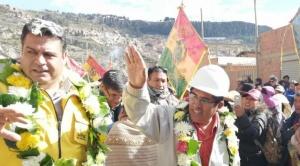 Revilla elige el sector de Sakachuru en Alpacoma para nuevo relleno sanitario de La Paz