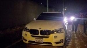 Hallan cuerpo de un piloto de la estatal BoA en el maletero de una vagoneta BMW