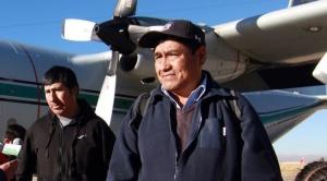 Retornó Leonardo Condori, el boliviano que sobrevivió al derrumbe de la mina en Tocopilla 1