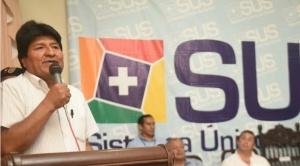"""Evo Morales: """"Algunos dirigentes del MAS en vez de atraer (militantes), espantan"""""""