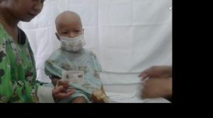 El niño Sebastián será traslado a Brasil para que reciba tratamiento especializado