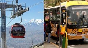 """La Paz, la """"cuna"""" en la modernidad del servicio de transporte público 1"""