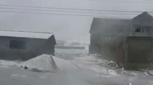 Por fuerte nevada y congelamiento, cierran carreteras a los Yungas y Oruro Potosí
