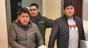 Sergio Pampa, el segundo alto dirigente de Adepcoca fue enviado a la cárcel