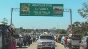 """Evo pide identificar a """"enemigos del Beni"""" en inauguración de carretera a San Ignacio de Moxos"""