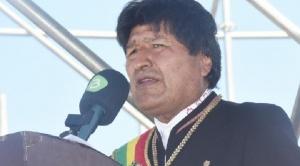 """Evo quiere """"ser el presidente de la mejor Bolivia"""" y dice que el país es """"digno y soberano"""""""