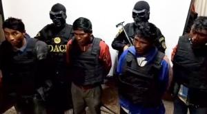 Presentan a presuntos autores por la muerte de dos jóvenes en el Cerro Rico de Potosí