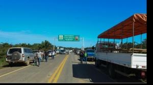 ABC admite deterioro de carretera Trinidad-San Ignacio de Moxos a 12 días de su inauguración