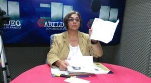 Amalia Pando señala que con un video de hace 16 años se quiere perjudicar a Mesa