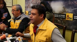 """Revilla denuncia """"persecución judicial y política"""" y asegura que el MAS quiere descabezar la Alcaldía"""