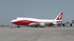 Supertanker realiza segundo vuelo nuevamente en Taperas donde se reactivaron las llamas 1