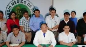 Médicos ratifican paro indefinido y ministra Montaño cuestiona falta de sensibilidad ante incendios de la Chiquitania