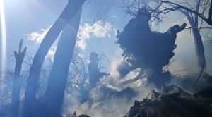 Cochabamba: Controlan el incendio en la zona de Lenquepampa del Parque Tunari