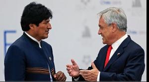 """Piñera: Evo """"habla mucho y no siempre en forma consistente"""""""