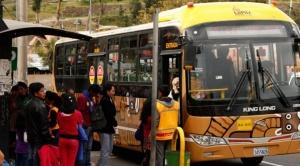 La Paz: Chóferes presentan propuestas para líneas de buses PumaKatari y el lunes se define si hay paro de transporte