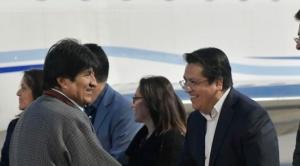 """Evo en La Haya: """"seguro que habrá buenas noticias para el pueblo boliviano"""""""